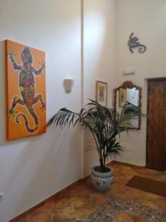 Finca Listonero entrance hall